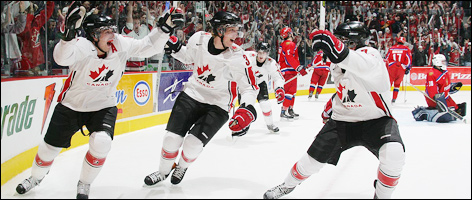 Hockey Canada And Nike Launched The 2005 08 Edition Of Team Jersey Prior To 2006 IIHF World Junior Championship In Vancouver BC