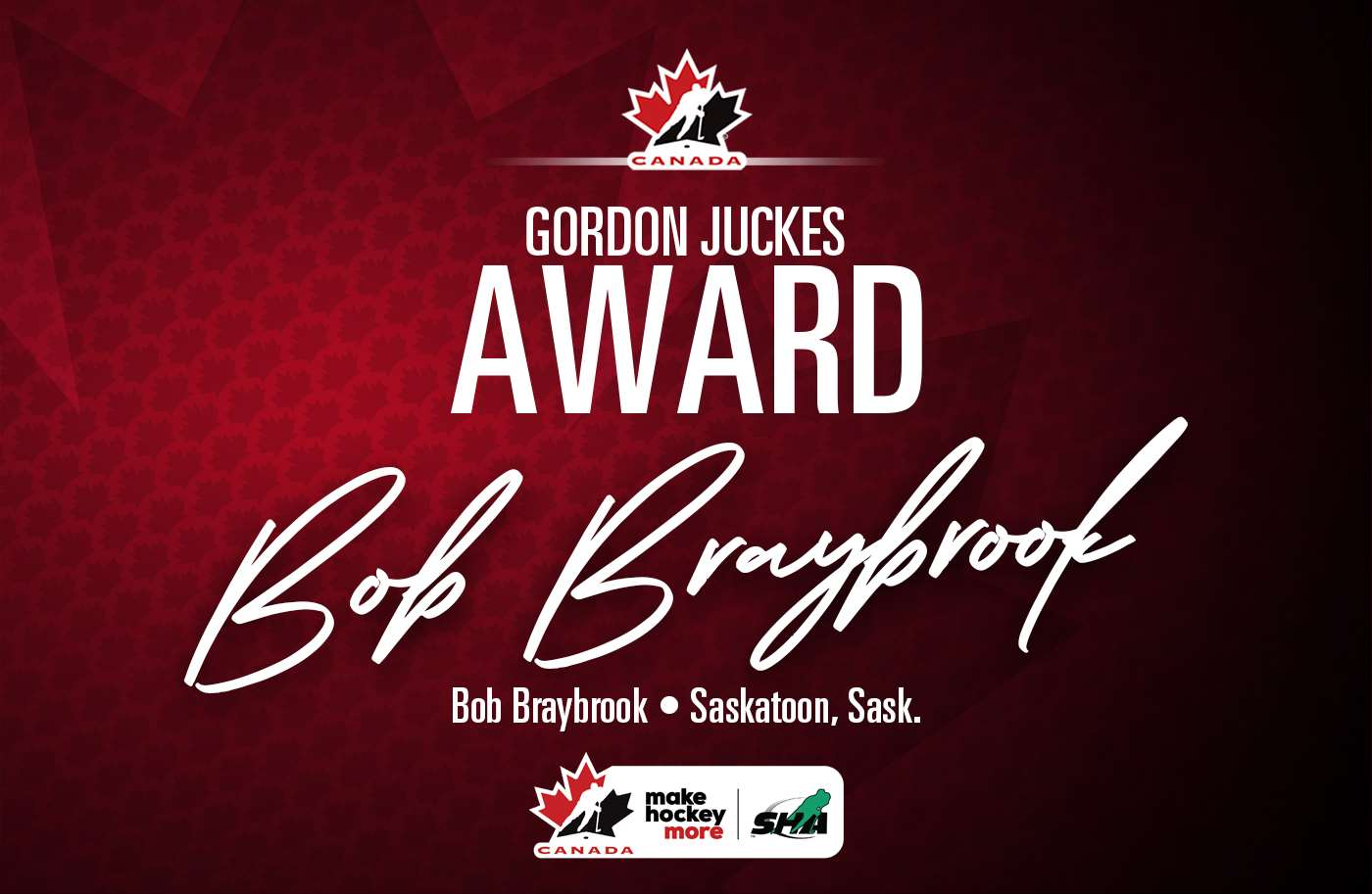 2021 gordon juckes award bob braybrook 1400 e