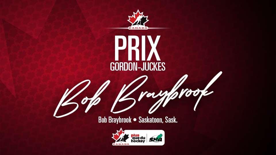 2021 gordon juckes award bob braybrook f