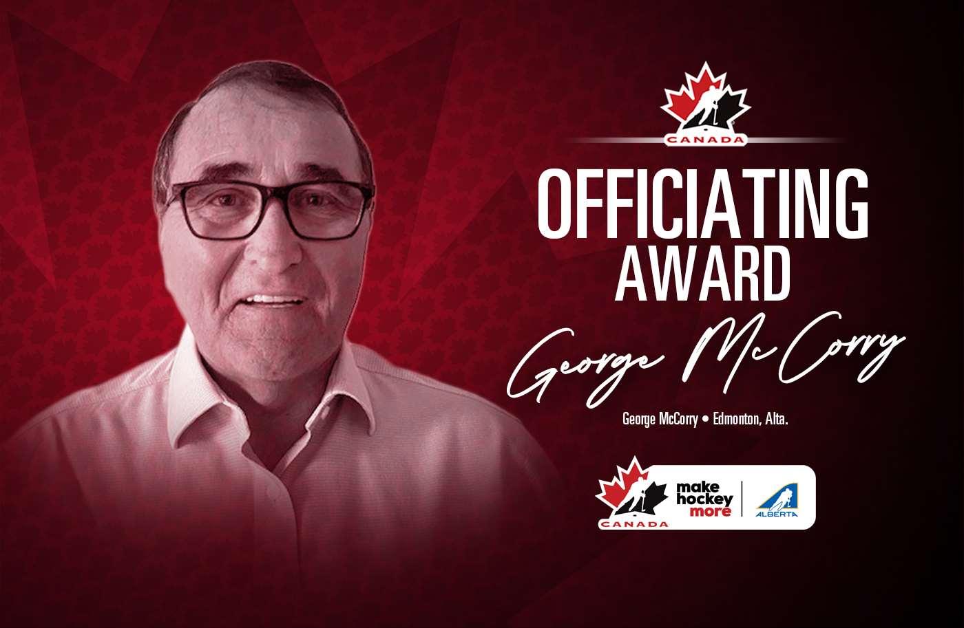 2021 officiating award george mccorry 1400 e
