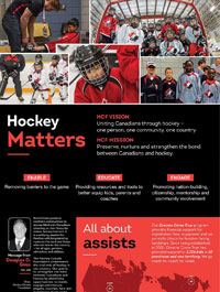 Hockey Canada Foundation Impact Report