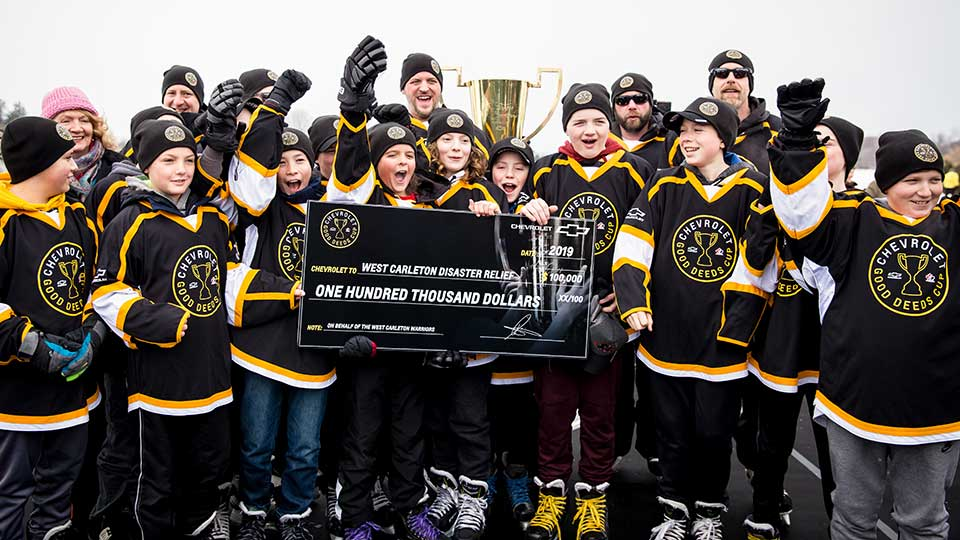 Chevrolet Good Deeds Cup 2019 Winners
