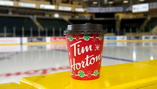 tims cup on boards