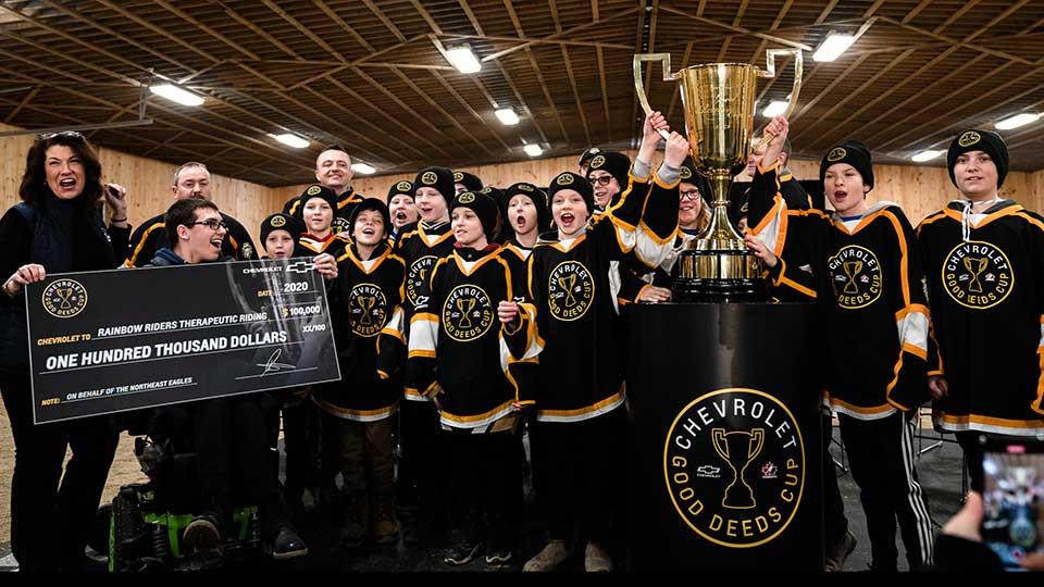 Chevrolet Good Deeds Cup 2020 Winners