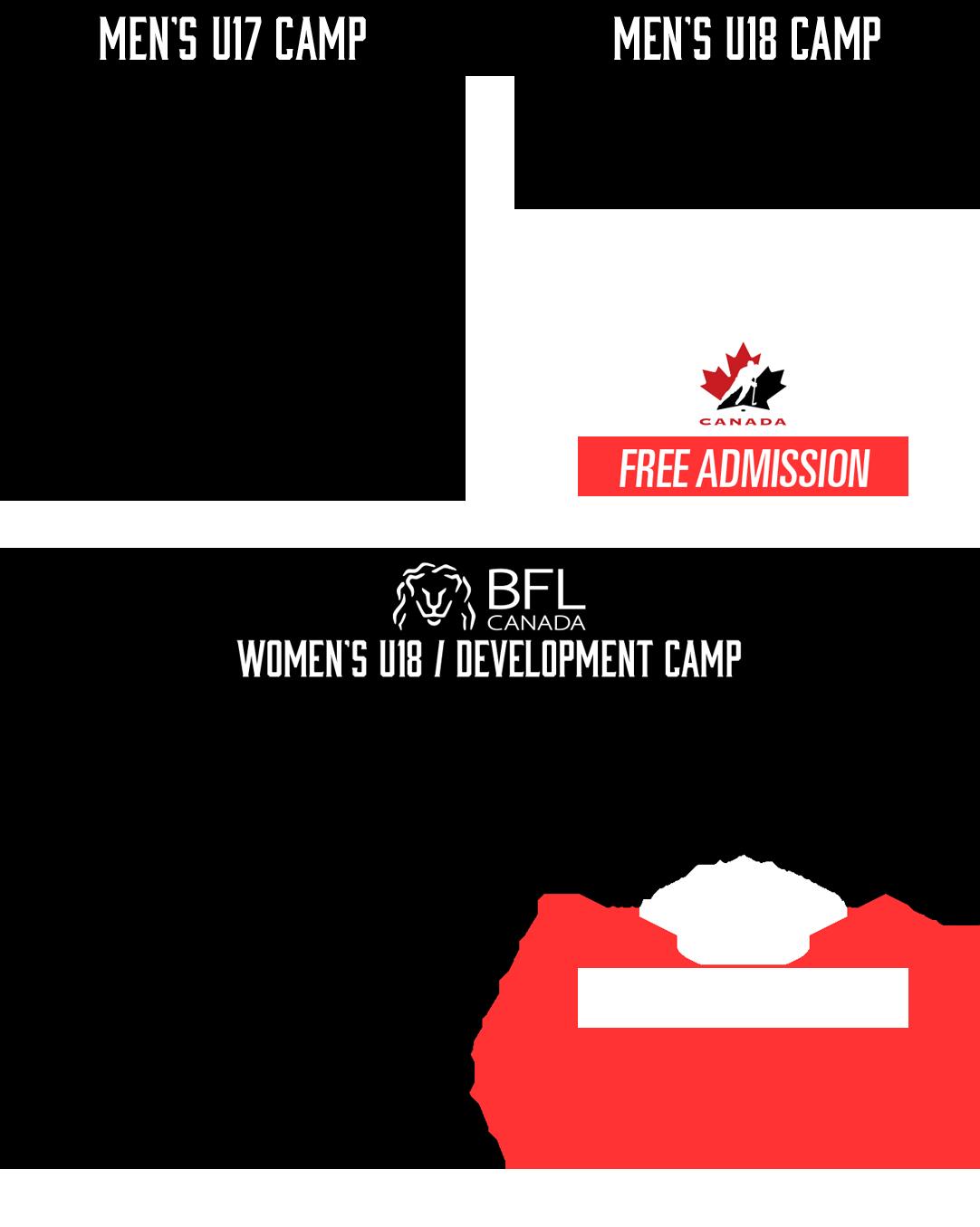 2019 Hockey Canada Summer Showcase schedule