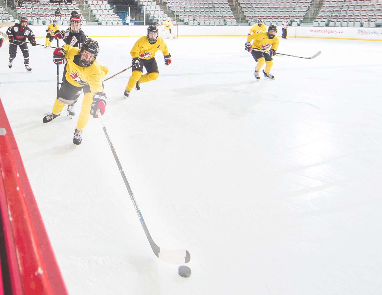 hockey canada summer showcase yellow haze