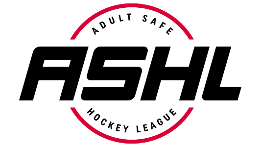 ASHL - Adult Safe Hockey League logo
