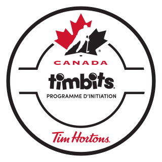 Programme d'initiation Timbits de Hockey Canada logo