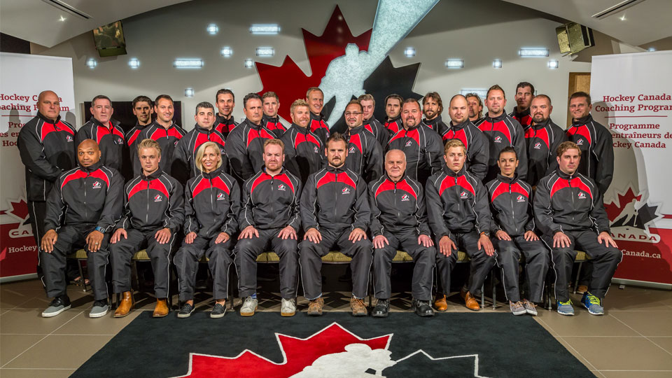 Certified hockey coaches from Hockey Canada's NCCP (National Coaching Certification Program)