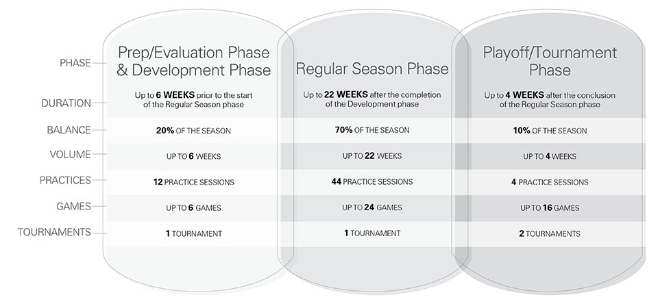 U11 hockey seasonal structure - Competitive, travel