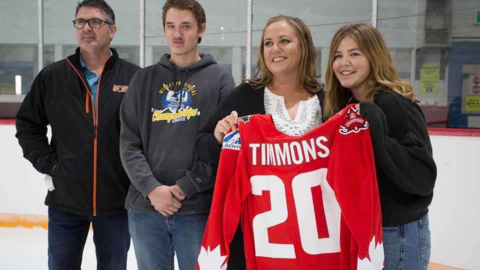hockey canada champion chantel timmons