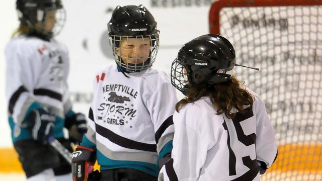 Kemptville girls hockey
