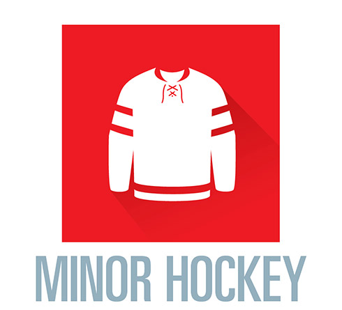 Join minor hockey
