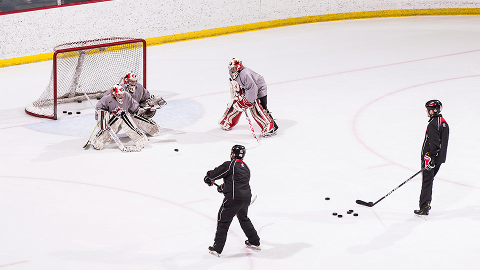 Hockey Canada Skill Development Goaltending