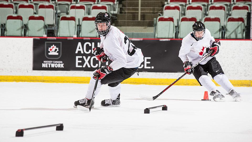 Hockey skating skills