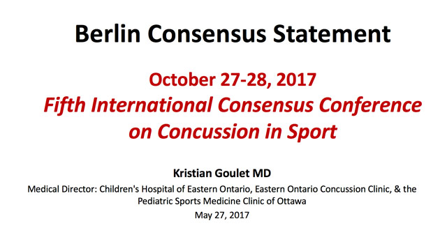 concussions argument Sports-related concussions and traumatic brain injuries: the issue of concussions in sports its value has been the subject of heated debate since hockey.