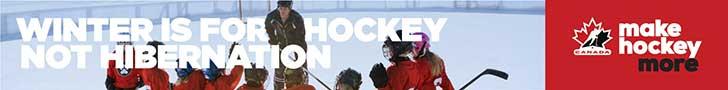 Winter is for hockey not hibernation