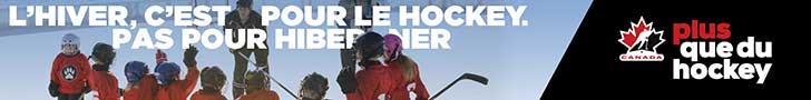 L'hiver c'est pour le hockey pas pour hiberner