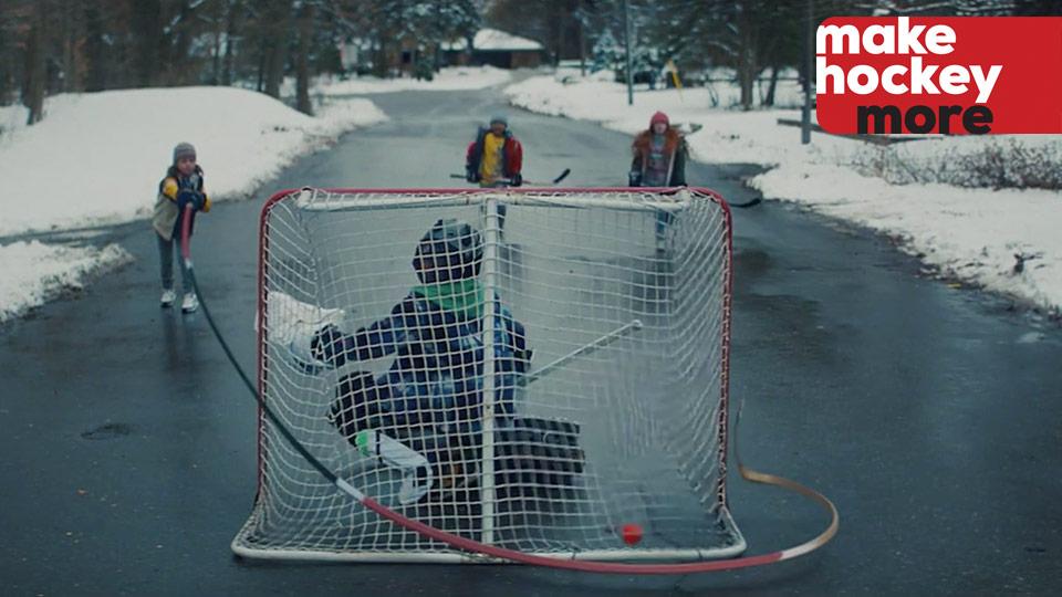 Make hockey more - magic wrap-around