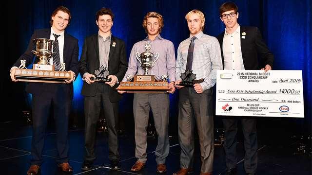 2015 telus cup award winners