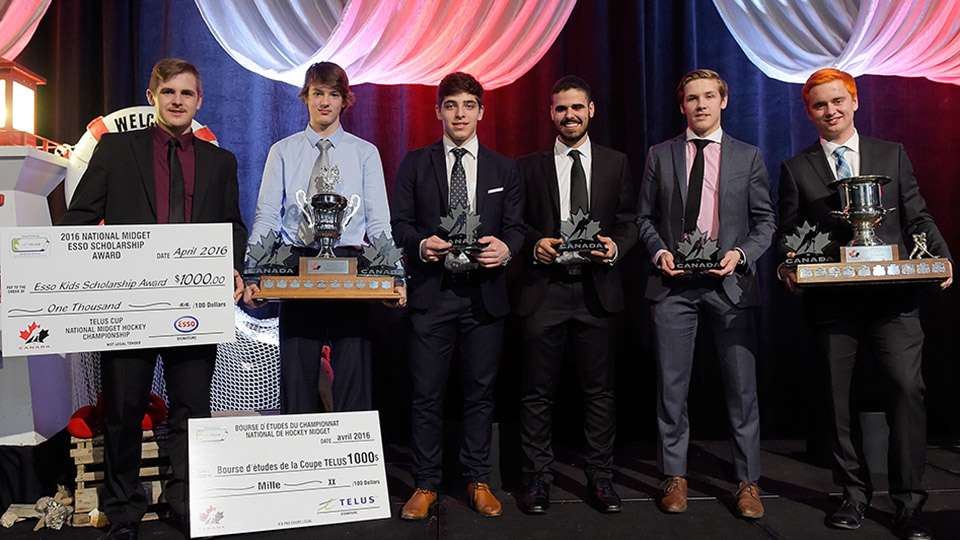 2016  t e l u s  cup award winners