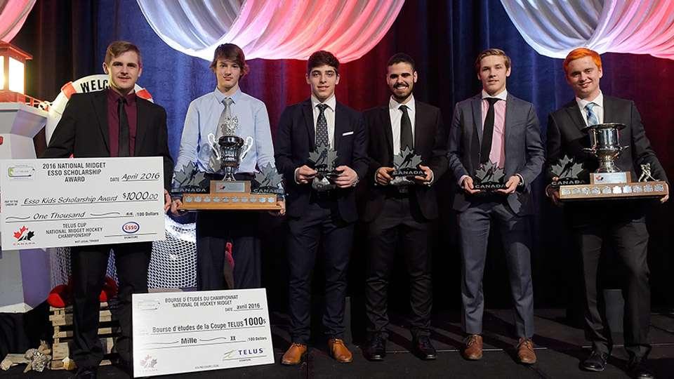 2016  t e l u s  cup award winners