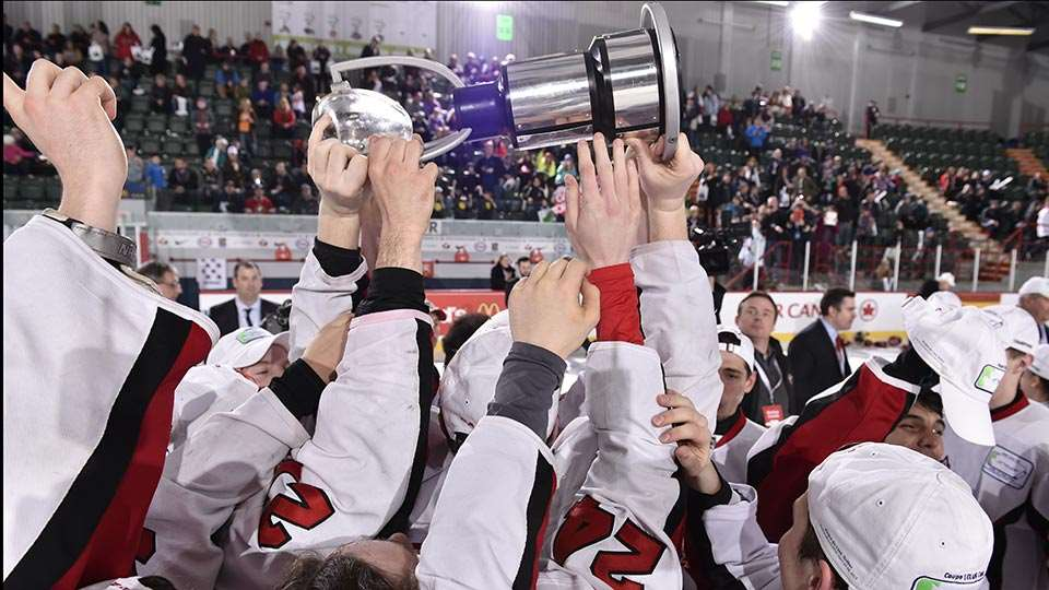 telus cup celebration