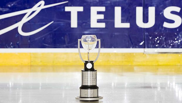 telus cup trophy