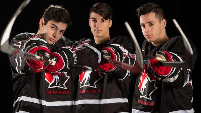 team black three number ones