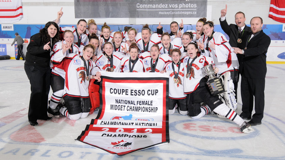 Saskatchewan midget female aaa hockey league