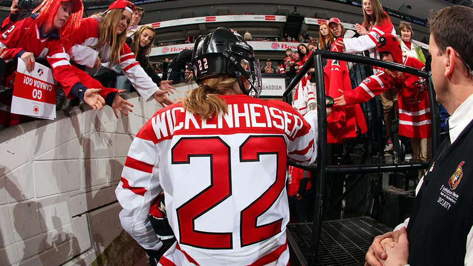 hayley wickenheiser retirement leaving ice fans