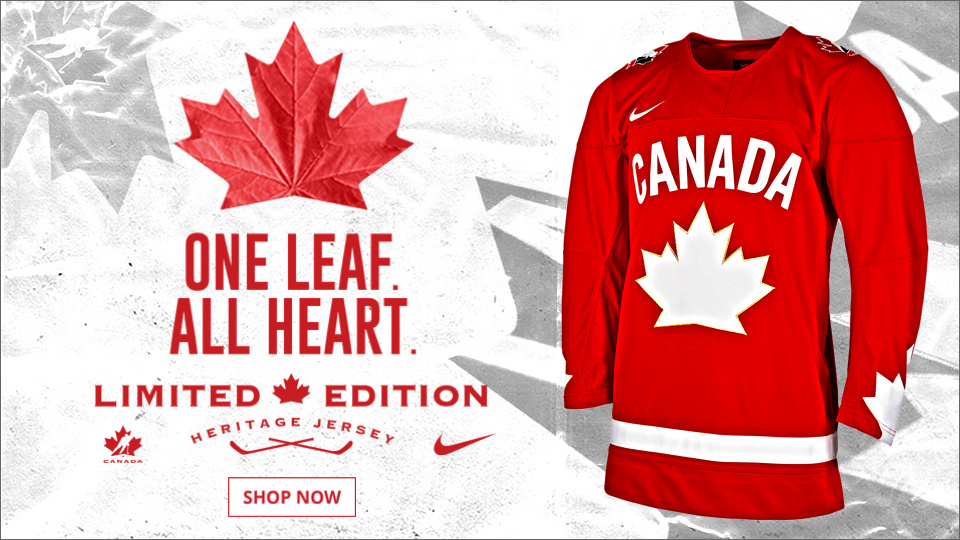 Hockey Canada unveils limited edition Nike heritage jersey for ...