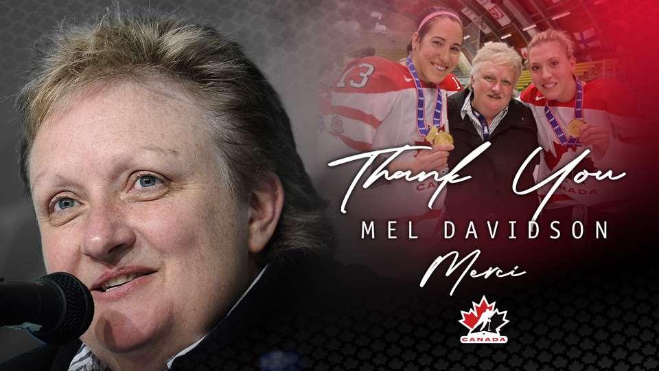 mel davidson retirement