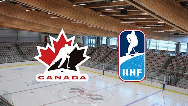 hockey canada iihf logos