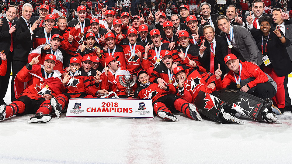 Team canada is back on top at world juniors - Image hockey canadien ...