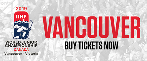 2019 World Junior Championship Tickets - Vancouver