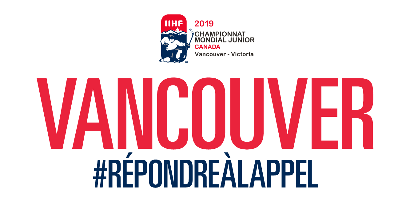 Championnat mondial junior 2019 - Vancouver - Répondre à l'appel