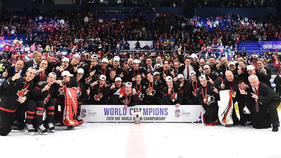 2019 20 National Junior Team 2020 Iihf World Junior Hockey