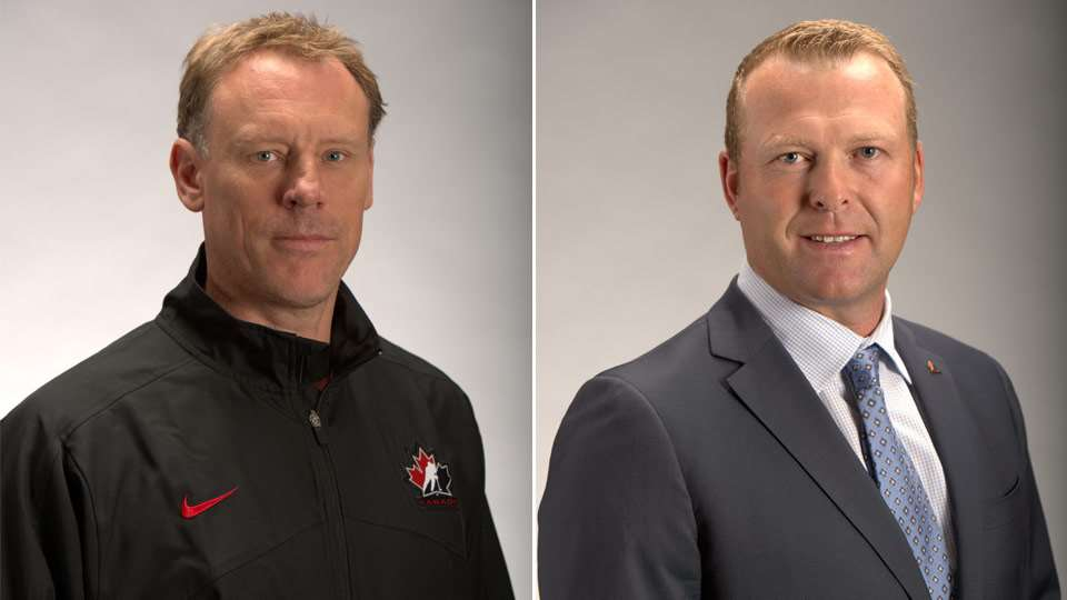 Sean Burke Martin Brodeur Named Co General Managers Of Team Canada
