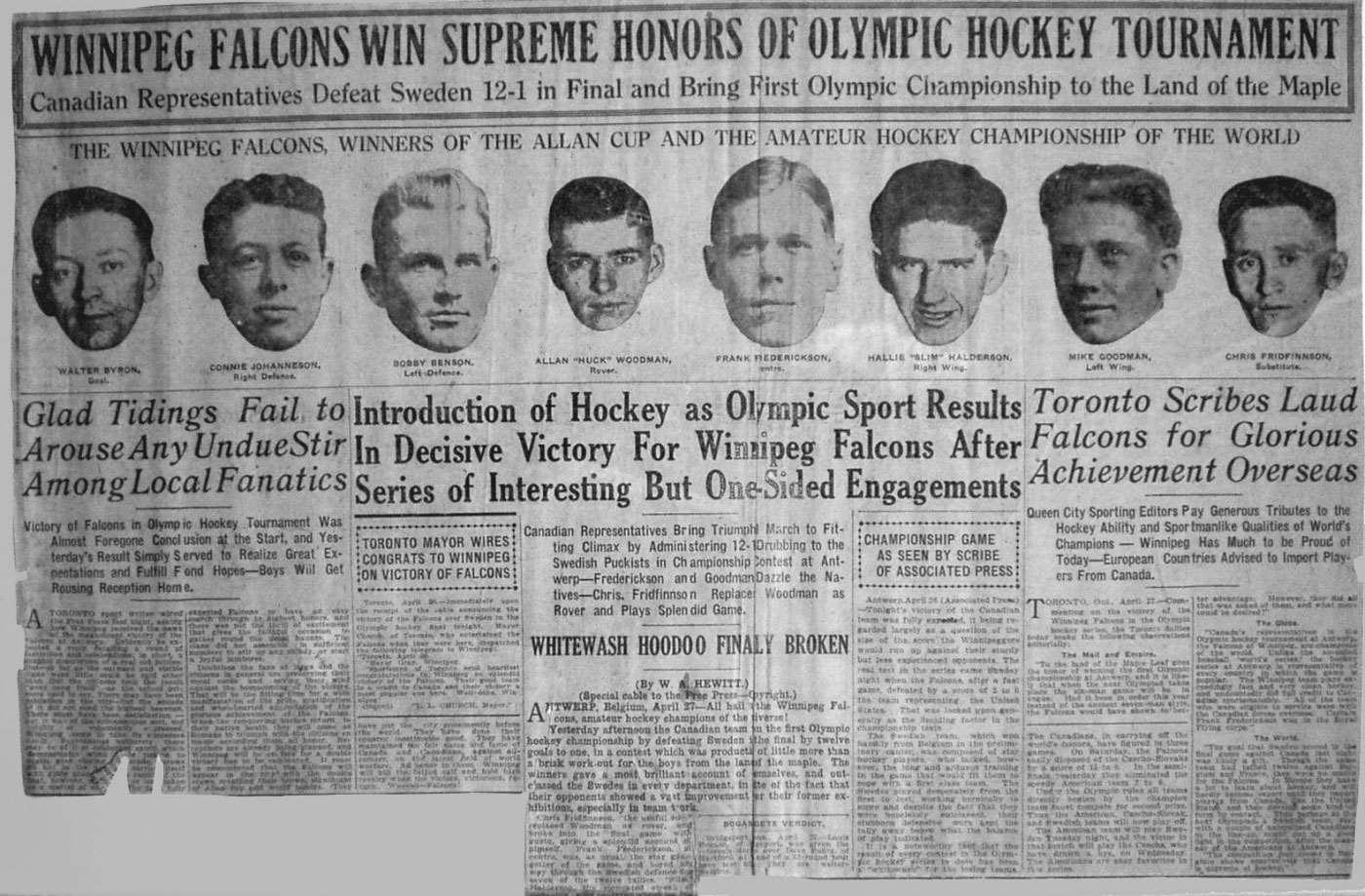 100 yr gold falcons win