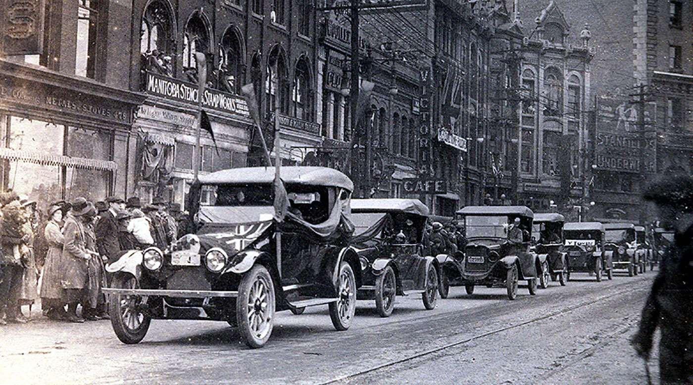 100 yr gold parade
