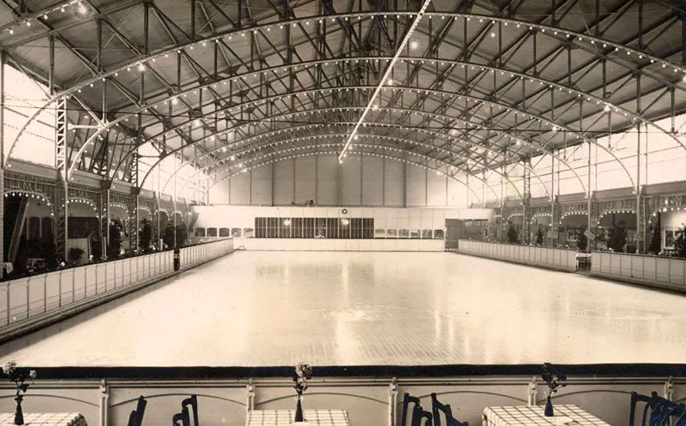 100 yr gold rink 1920
