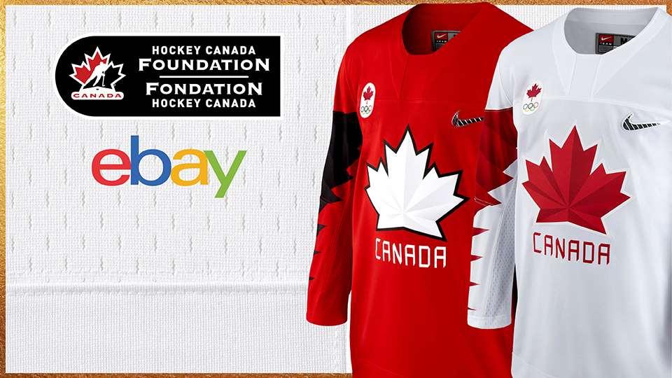 vente aux ench res en ligne de chandails de hockey olympique canadiens port s lors de matchs au. Black Bedroom Furniture Sets. Home Design Ideas