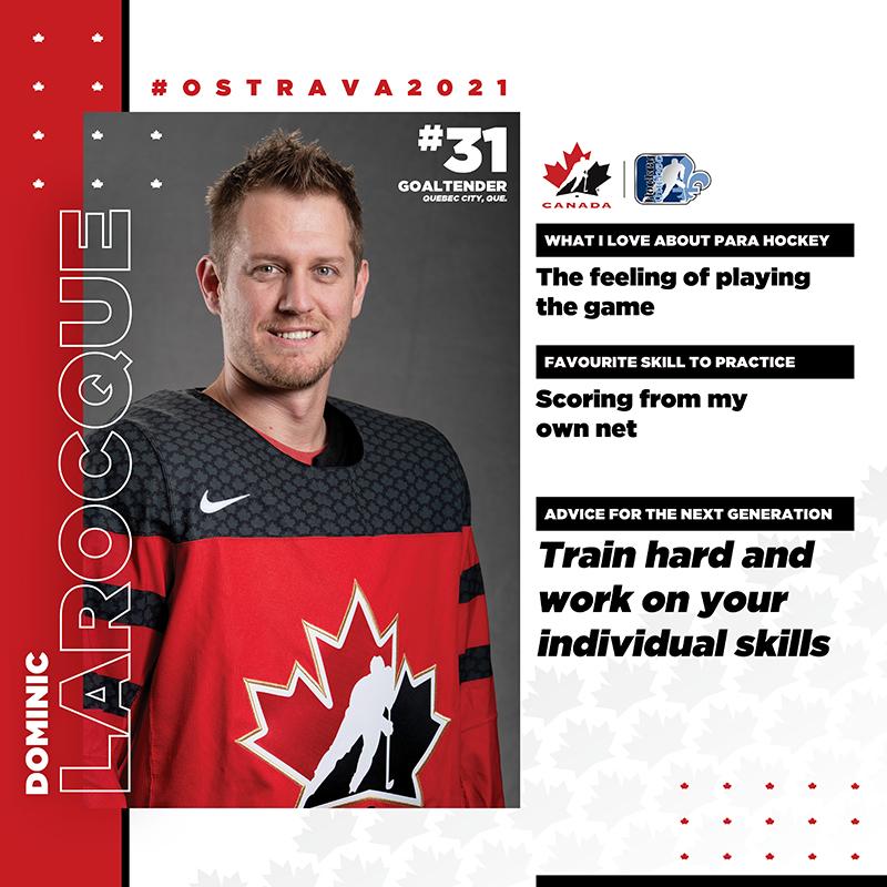 Player Profile - Dominic Larocque