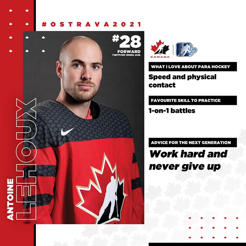 Player Profile - Antoine Lehoux