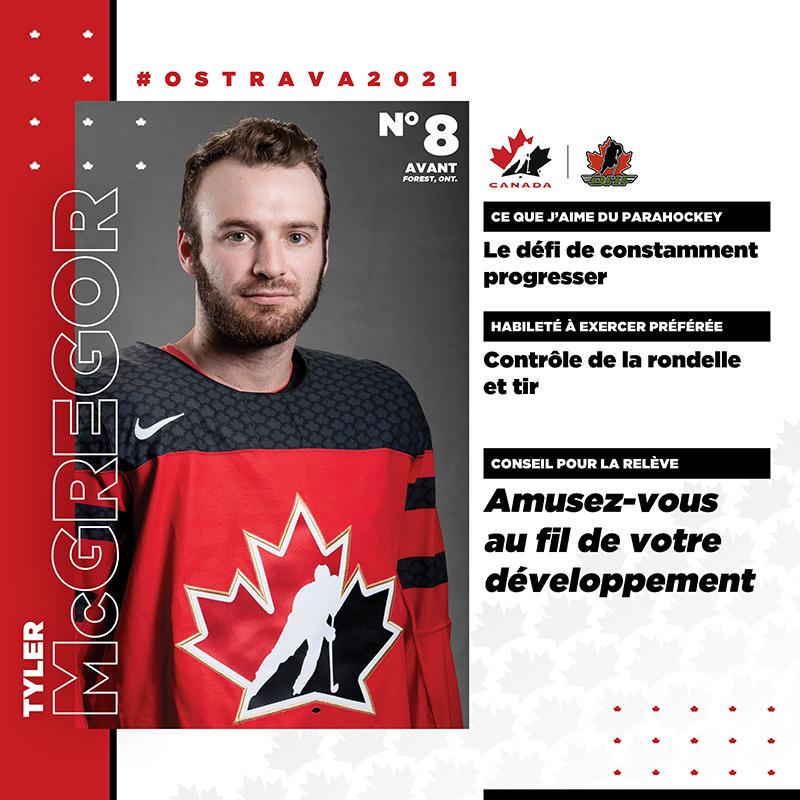 Profils de joueurs - Tyler McGregor