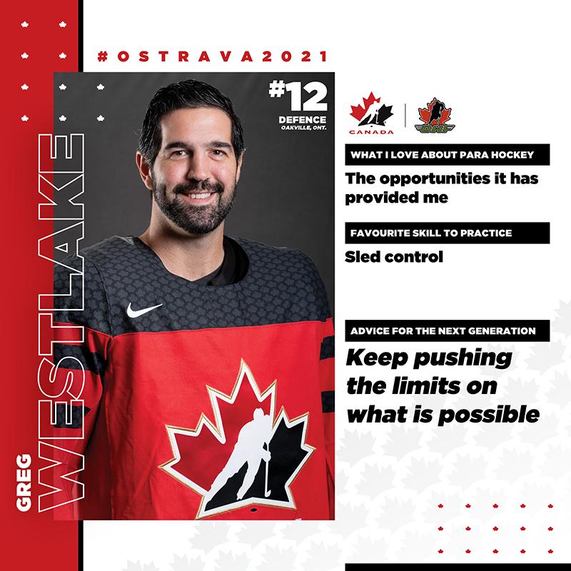 Player Profile - Greg Westlake