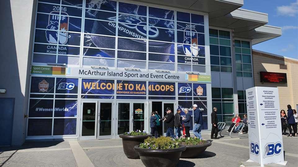 wwc bc hockey rink signage