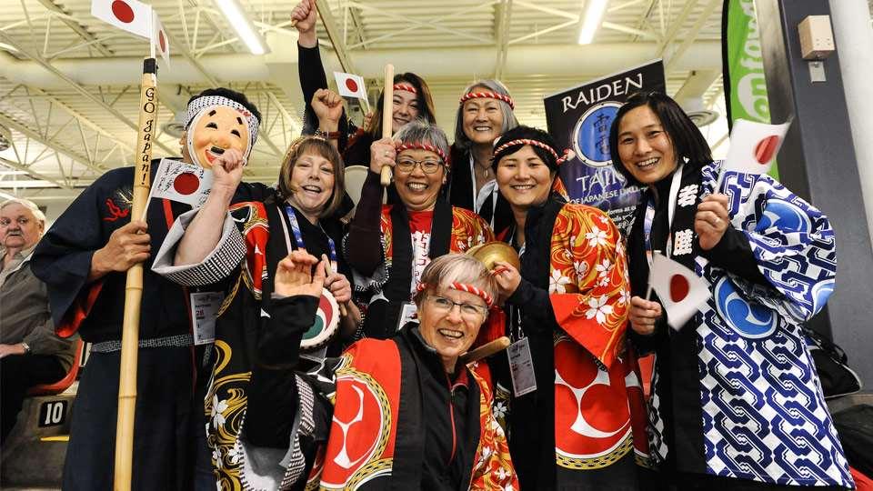 wwc team japan fans