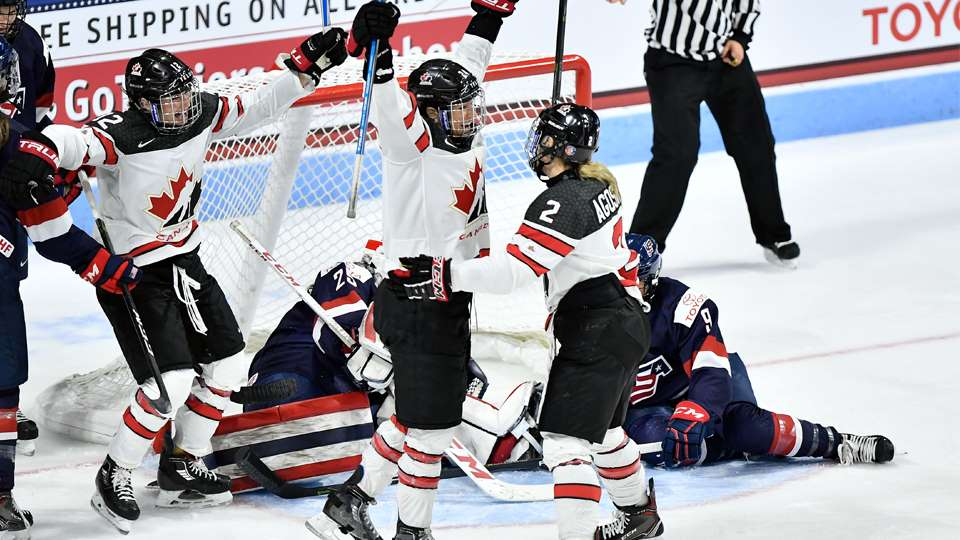 an analysis of women in the canadian national hockey team The united states women's national team will skate against the  as former  women's ice hockey standouts marie-philip poulin ('15) and jenn.